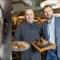 VALE KALA: Pulli omanik Enn Tobreluts (paremal) ja peakokk Hanno Kuul soovisid külalistele pakkuda võikala, kuid tarnija saatis hoopis eskolaari.