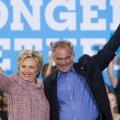 Hillary Clinton valis oma asepresidendikandidaadiks hispaaniakeelse senaatori Tim Kaine'i