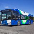 В Таллинне вышел на линию электробус
