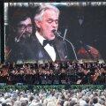 Bocelli ebalevalt alanud kontsert kujunes kuulajaile kustumatuks kogemuseks