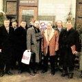 Делегация из Санкт-Петербурга у таллиннской мэрии