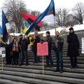 В Таллинне прошел митинг в поддержку Надежды Савченко