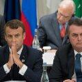 Emmanuel Macron ja Jair Bolsonaro
