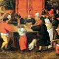 """Kombed kindlaks määratud: Pieter Breughel noorem """"Andide toomine"""" (umbes 1630)."""