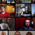Новогодний флешмоб: 500 человек в Великобритании спели синхронно по видеосвязи