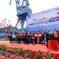 В Китае заложен киль бункеровщика LNG компании Eesti Gaas