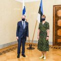 President Kaljulaid kohtus Soome välisministriga