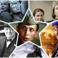 """Коллаж из фильмов """"Диверсант"""", """"Женя, Женечка и Катюша"""", """"В бой идут одни старики"""", """"Лидеры II мировой"""", """"Т-34"""" и """"Шпион"""""""