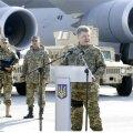 Ukraine American military aid has begun