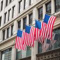 USA lipud New Yorgis Manhattanil