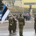 Vabariigi 97. aastapäeva paraadi algus Narvas