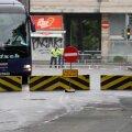 FOTOD ja VIDEO   Rongkäigu turvamiseks kasutatakse ohtralt betoonist tõkkeid