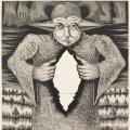 """Jüri Arrak """"Illusionist"""". Sügavtrükk, 1977."""