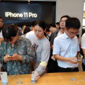 iPhone 11 telefonid Hiinas