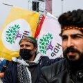HDP toetajad laupäeval Istanbulis kurdi kevadpüha meeleavaldusel
