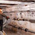 ФОТО: Охотники за металлом поживились в теплоузлах трех домов Кохтла-Ярве