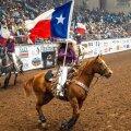 San Angelo (Texas) rodeo tänavu 16. aprillil – täismajale.