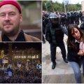 Artur Talvik (vasakul üleval) ja Kataloonia sündmused