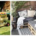 TEE ISE | 12 lahedat ideed, kuidas aias kaubaaluseid kasutada