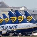 OOTEL: Ryanairi lennukid seisavad Dublini lennujaamas. Firma loodab 1. juulist oma lennuvõrgu 40% ulatuses taaskäivitada.