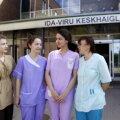 В Ида-Вирумаа практиковались студенты медицинского колледжа из Санкт-Петербурга