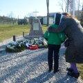 Afganistanis langenute mälestusmärgi avamine