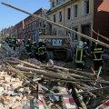 FOTOD: Põhja-Saksamaal hävis plahvatuses elumaja