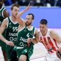 Kaunase Žalgirise mängijate (rohelises) jaoks on hooaeg alanud keeruliselt.