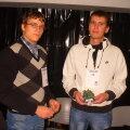 Mehhatroonikud Martin Venski ja  Erki Teemant.