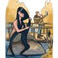 """""""Mulle endale meeldib motiiv, kus mõne veekoguga seoses on tähtud näkki – pikkade mustade juustega naist, kes kivil istudes juukseid kammib,"""" ütleb Maili Metssalu Eesti Rahvakultuuri Keskusest, kes kogub imelugusid."""