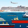 INTERAKTIIVNE GRAAFIK | Kui suured ikkagi on tänavu Tallinna külastavad suurimad kruiisilaevad?