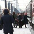 FOTOD | Moskva–Tallinna lisarong tõi pühadeks Eestisse arvukalt Vene turiste