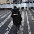 Pühapäevane protest Peterburis