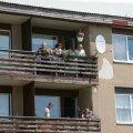 ФОТО читателя Delfi: Эстонские байкеры выступили против приема беженцев
