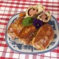 РЕЦЕПТ | Пирожки с сосиской и огуречно-горчичной начинкой