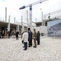 FOTOD: Tartus pandi paika rahvusarhiivi uue peahoone nurgakivi