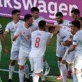 Испания разгромила Словакию (5 мячей!) и теперь в плей-офф сыграет с Хорватией