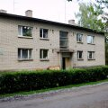 Tüüpprojekti nr 61 järgi ehitatud nelja korteriga elumaja Nõo ligidal Lukel.