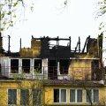 Põlenud maja, kus hukkus kaks inimest