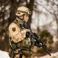 Эстонское подразделение провело последнюю тренировку перед отправкой в Ирак