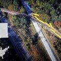 REKONTRUKTSIOON | Nii paiskus suure kiirusega kurvi sisenenud reisirong USA-s maanteele