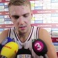 DELFI VIDEO: Rolands Freimanis: Eestiga tuleb väga tähtis mäng, peame meeskonnana valmis olema