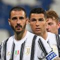Juventuse mängumehed Leonardo Bonucci ja Cristiano Ronaldo