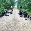 Viimaste nädalatega on Leedu piirivalve kinni pidanud sadu illegaalseid migrante. Migrandid on sinna organiseerinud Valgevene režiim.
