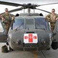 Eesti pilootide käsutuses oli UH-60 Black Hawki tüüpi kopter. (Foto: Kristel Maasikmets / Kaitsevägi)