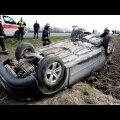DELFI VIDEO JA FOTOD: Viljandimaal Puiatus rullus sõiduauto üle katuse