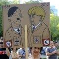 Uuring: sakslased on Lõuna-Euroopa Merkeli-vastastest protestidest nördinud