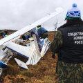 Обломки упавшего ранее российского гидросамолета нашли в болоте