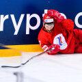 Игрок сборной России Артем Швец