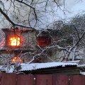 VIDEO ja FOTOD   Märjamaal põleb elumaja lahtise leegiga